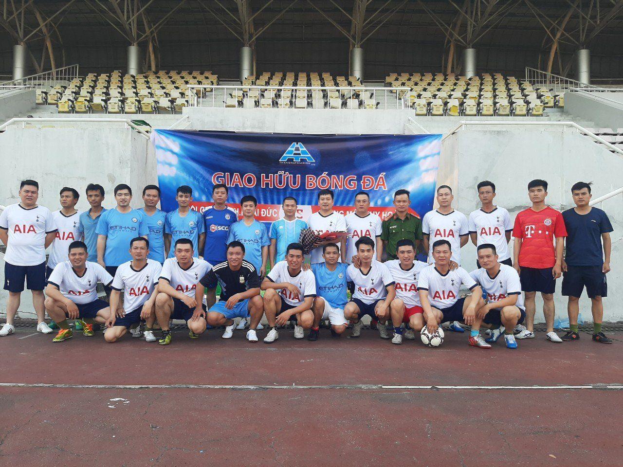 Giao hữu bóng đá FC Huy Hoàng - FC HDP