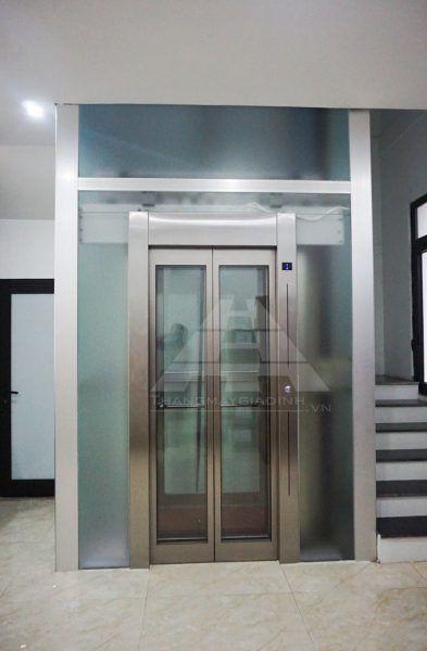 Lắp đặt thang máy kính tại Văn phòng công ty dược phẩm – Khu đô thị Vinhome